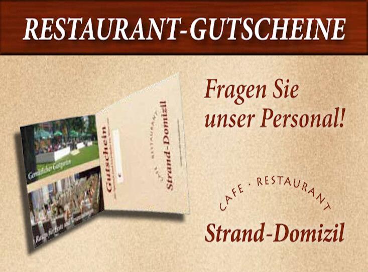 Gutschein Homepage